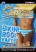 Bikini Pool Party la Crema Summer Club din Mamaia