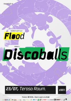 Concert DiscoBalls în Club Raum din Cluj-Napoca
