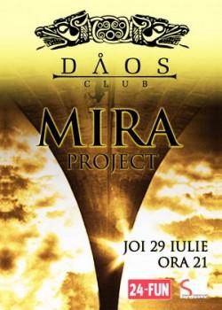 Concert Mira Project în Club Daos din Timişoara