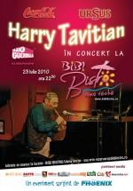 Concert Harry Tavitian la Bibi Bistro din Vama Veche