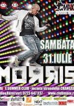 Concert Morris în Maxx Summer Club din Bucureşti