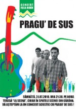 Concert Pragu' de sus la Terasa La Scena din Gărâna