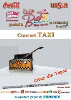 Concert Taxi la Bibi Bistro din Vama Veche