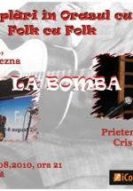 Concert Folk în Club La Bomba din Gura Humorului