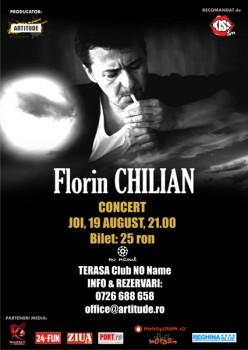 Concert Florin Chilian în Club No Name din Timişoara