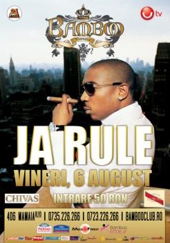 Concert Ja Rule în Club Bamboo din Mamaia