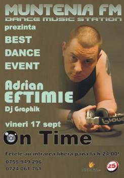 Adrian Eftimie în Club On Time din Piteşti