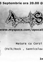 Concert Apocalips la Class Cafe din Sannicolau Mare