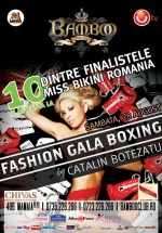Fashion Boxing Gala în Club Bamboo din Mamaia