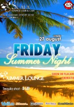 Friday Summer Night la Scala Summer Lounge din Piatra Neamţ