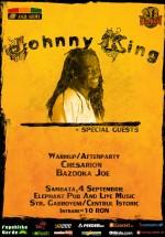 Concert Johnny King în Elephant Pub din Bucureşti
