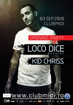 Opening Party Club Midi din Cluj-Napoca