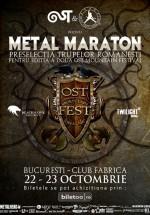 Metal Maraton în Club Fabrica din Bucureşti