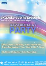Razaar B-Day Party la Barocco Bar din Bucureşti