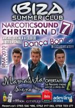 Concert Narcotic Sound la Ibiza Summer Club din Constanţa