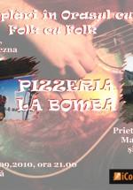 Adrian Beznă în Pizzeria La Bomba din Gura Humorului
