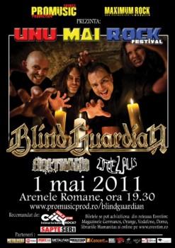 Concert Blind Guardian la Bucureşti