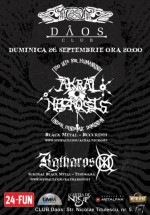 Concert Akral Necrosis şi Katharos XIII în Club Daos din Timişoara