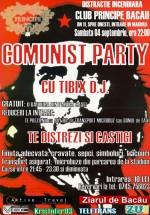 Comunist party în Club Principe din Bacău