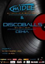 Concert DiscoBalls la Club Hand din Iaşi