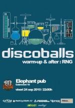 Concert Discoballs în Elephant Pub din Bucureşti