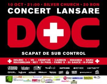 Lansare album Doc în The Silver Church din Bucureşti