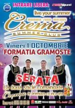Concert Gramoste la Crema Summer Club din Mamaia