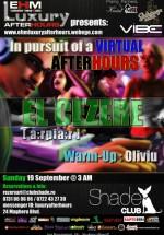 In Pursuit of a Virtual Afterhours în Club Shade din Bucureşti