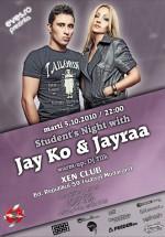 Jay Ko & Jayraa în Club Xen din Braşov