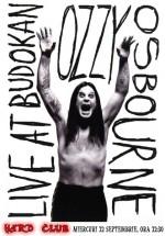 Videoproiecţie Ozzy Osbourne la Hard Club din Cluj-Napoca