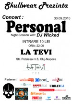 Concert Personal în La Tevi Pub din Cluj-Napoca