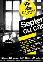 Septembrie cu cântec în Le General din Cluj-Napoca