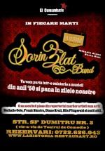 Concert Sorin Zlat Band la Bistro La Historia din Bucureşti