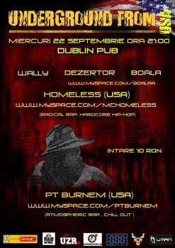 Underground From USA la Dublin Pub din Iaşi