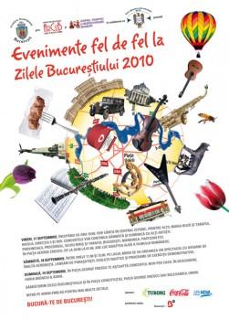 Program Zilele Bucureştiului 2010 (17-19 septembrie)
