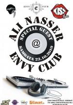 Ali Nasser la Club Envy din Bucureşti