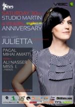 Anyplace.ro 4 years anniversary la Studio Martin din Bucureşti