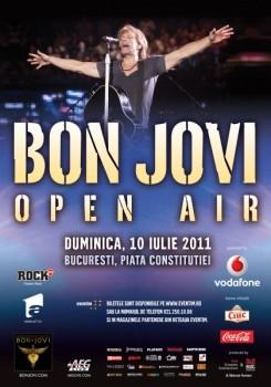 Concert Bon Jovi la Bucureşti