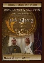 Concert Berti Barbera şi Nicu Patoi la Ristorante Da Vinci din Suceava