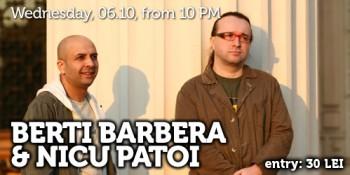 Concerte Berti Barbera & Nicu Patoi în Club Tribute din Bucureşti