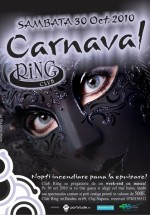 Carnaval în Club Ring din Cluj-Napoca