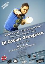 DJ Robert Gerogescu în Club Xen din Braşov