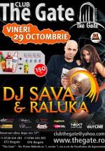 DJ Sava & Raluka în Club The Gate din Bucureşti