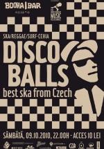 Concert Discoballs la Booha Bar din Cluj-Napoca