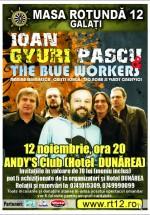 Concert Gyuri Pascu & The Blue Workers la Club Andy's din Galaţi