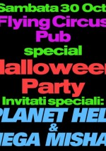 Halloween Party la Flying Circus Pub din Cluj-Napoca