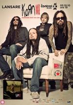 Lansare album Korn III – Remember Who You Are în Club Control din Bucureşti
