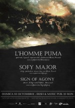 Concert L'Homme Puma şi Sofy Major la Irish & Music Pub din Cluj-Napoca