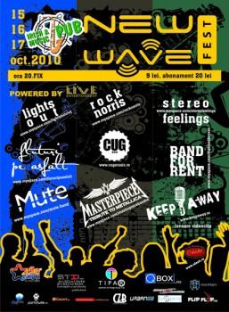 New Wave Fest la Irish & Music Pub din Cluj-Napoca
