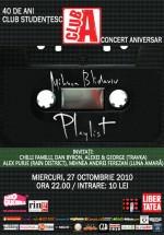 Concert Mihnea Blidariu în Club A din Bucureşti